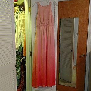 LC ombre maxi dress